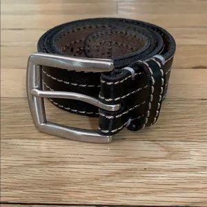 Lucky Brand Jeans Men's Dark Brown Belt
